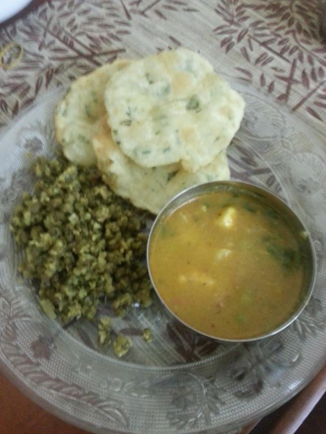 Gluten Free Poori