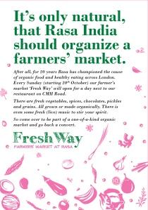 Fresh Way FarmMarket Leaflet-Front