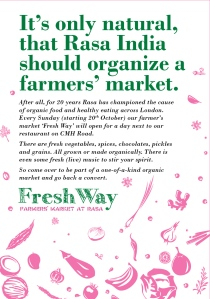 Fresh Way FarmMarket Leaflet-Front
